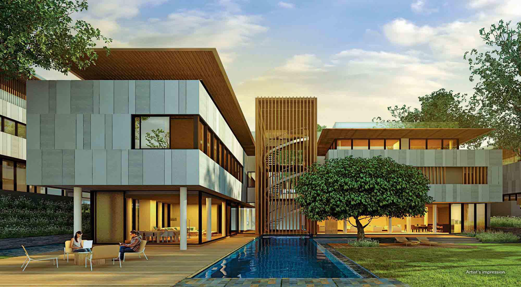 Luxury Villas in Pune - Garden Apartments At Marvel Selva Ridge