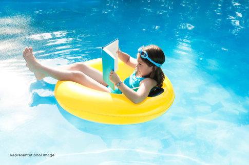 2 bhk apartment swimming pool