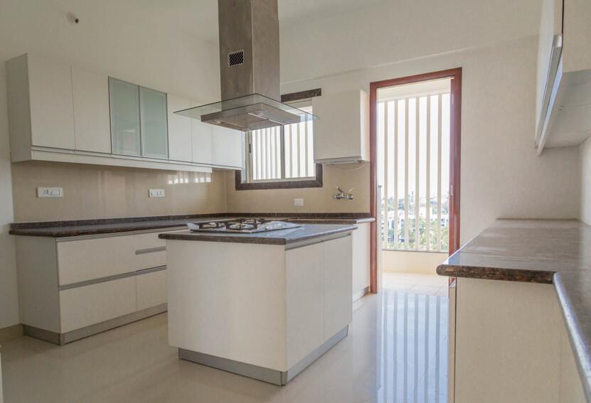 Sample Flat -Kitchen