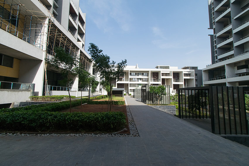 Fragrance Garden, walkway, Plumeria Terrace and Cabana