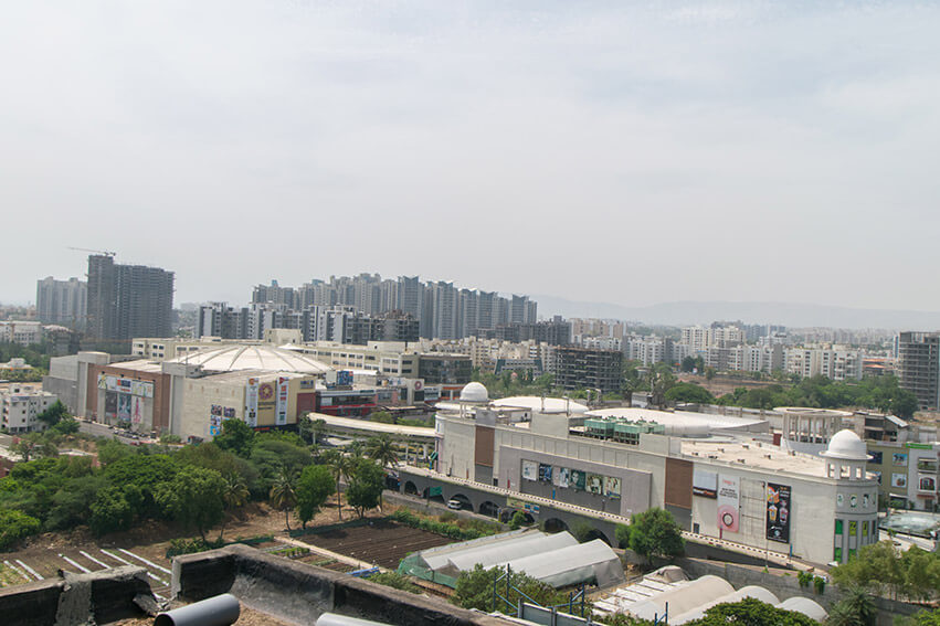 Left View from 4th Floor