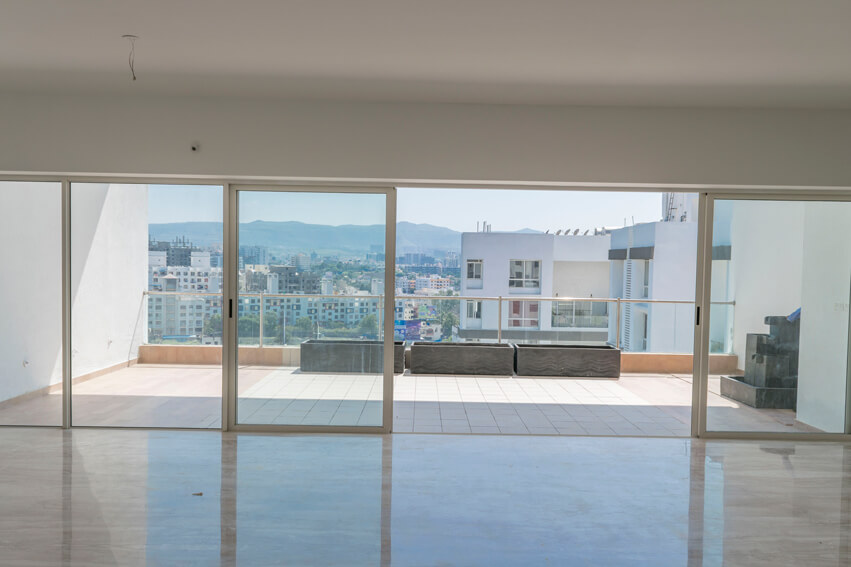 Living & Terrace area