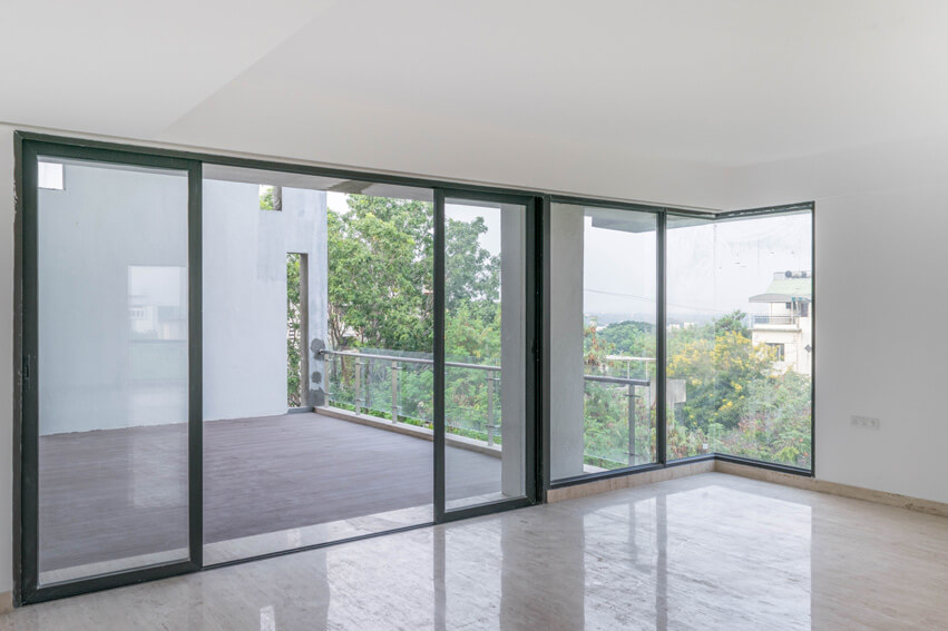 Living Area Facing Terrace and its View